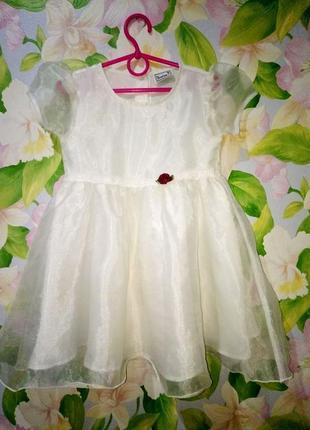 Платье нарядное на праздник утренник