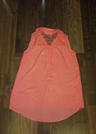 Блуза без рукавов s-m4 фото