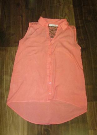 Блуза без рукавов s-m2 фото
