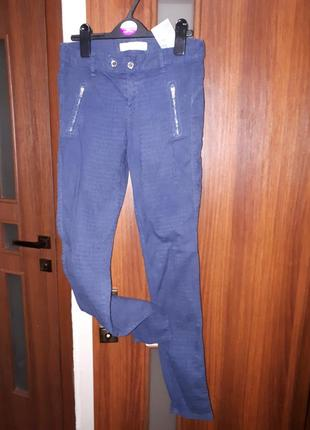 Синие джинсы скинни zara