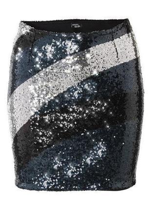 Нарядная юбка в пайетки от еsmara