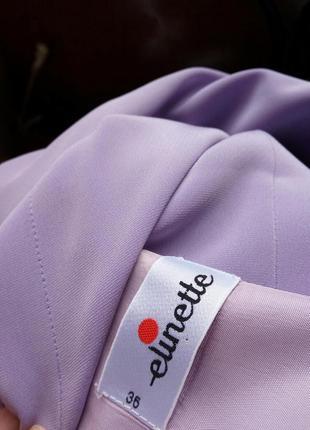 Лавандовое платье футляр с разрезом elinette xs/s5 фото