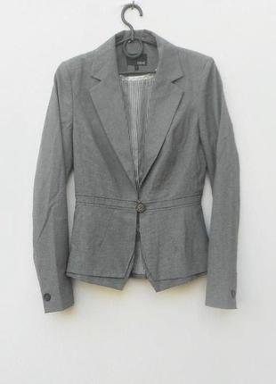Стильный классический приталенный пиджак жакет