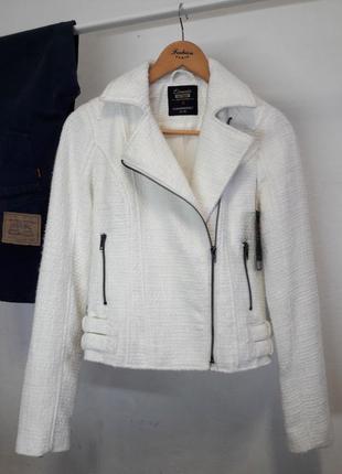 Твидовая куртка-косуха clockhouse