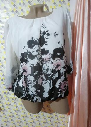Красивая блуза f&f .размер xl