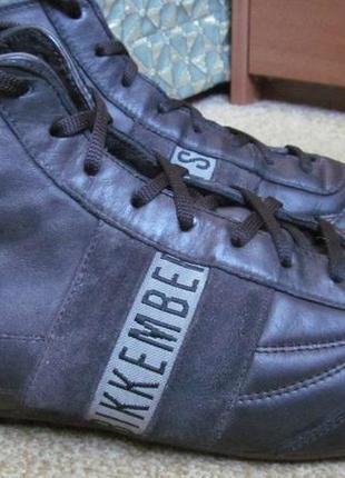 Ботинки(кроссовки высокие) dirk bikkemberg р.45.оригинал