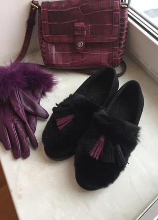 Зимние туфли prego