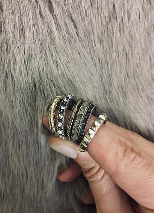 Сэт кольца перстень набор