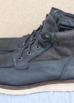 Ботинки jack & jones кожа италия 44р