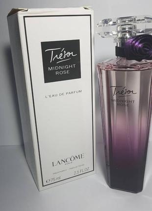 Новая парфюмированная вода lancome tresor midnight rose 75 ml франция