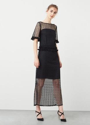 Новое крутое нарядное вечернее  платье маngo