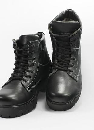 c9f7ce302 Зимние женские кожаные ботинки + натуральный мех, размер 36/37, цена ...