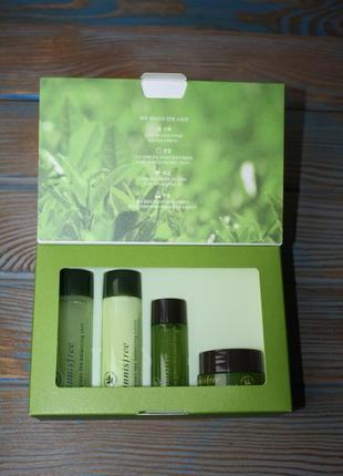 Набор миниатюр innisfree green tea special kit