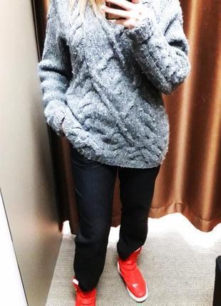 Шерстяной свитер asos