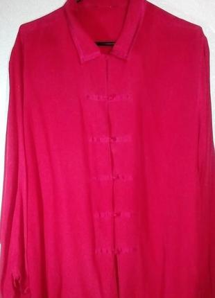 Рубашка блузка шелк!!!