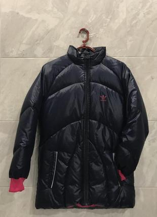 Дівоча зимова куртка-пуховик adidas 152розмір