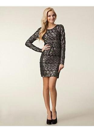 Блестящее платье/новогоднее платье/вечернее платье