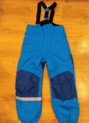 Шикарные лыжные штаны 122-128 размер