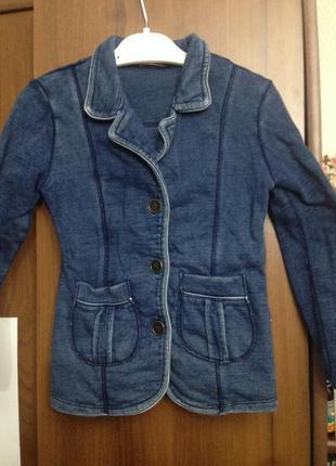 Джинсовый пиджак котон cls
