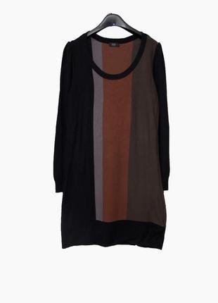 Красивое трикотажное  платье  uk12-14