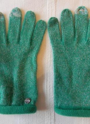 Женские зеленые перчатки от esprit