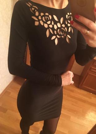 Облегающее мини платье boohoo