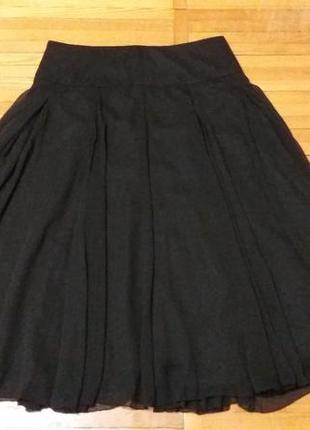 Нарядная воздушная юбка на подкладке размер 12 m@co
