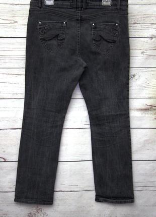 Крутые джинсы  серого цвета uk163