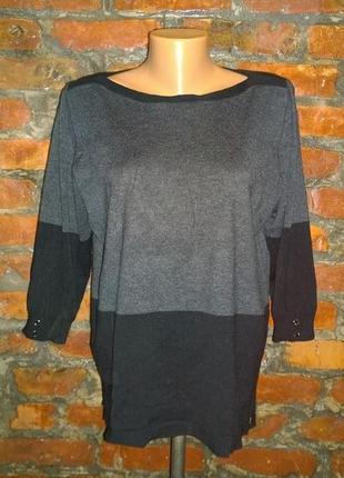 Джемпер блуза пуловер кофточка большого размера papaya