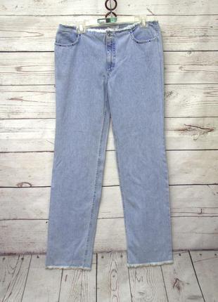 I blues club/стильные голубые джинсы прямого кроя