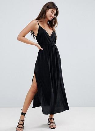 Гофрированное платье asos petite,р-р 12