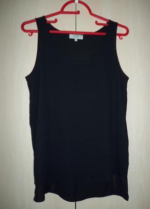 Papaya: черная майка, блуза