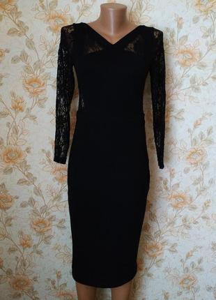 Шикарное,нарядное платье. с открытой спинкой. на бирке- 12 р-р(46)