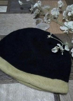 Очень теплая ангорковая шапка joules
