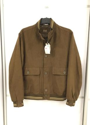 Мужская куртка на резинке ветровка италия