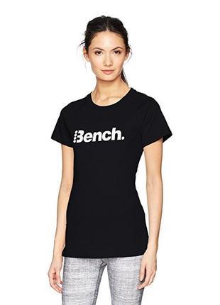 Хлопковая футболка bench размер s