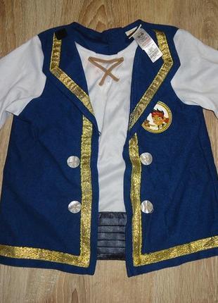 Карнавальный костюм(футболка) джейк и пираты на 4-6 лет george