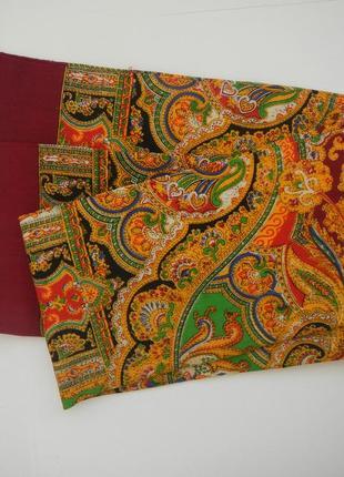Мужской кашне шерстяной шарф классический ретро2 фото