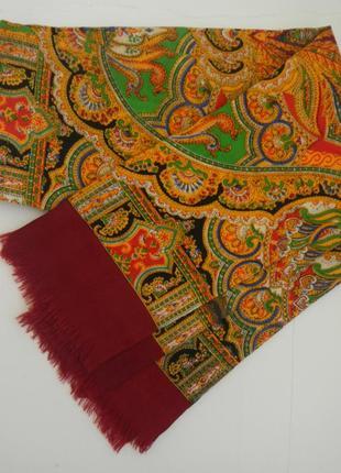 Мужской кашне шерстяной шарф классический ретро