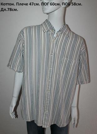 Полосатая рубашка от ben green