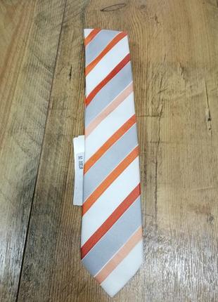 Шелковый галстук с обработкой от пятен люкс olymp германия