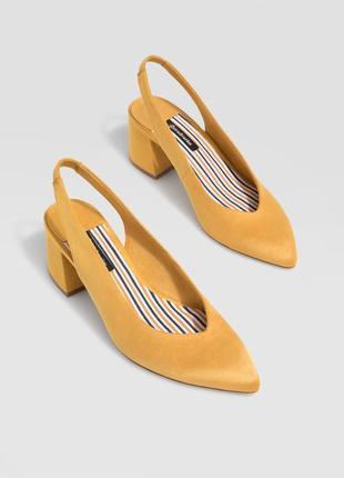 Фирменные остроносые туфли р.36, 37, 38, 39, 40