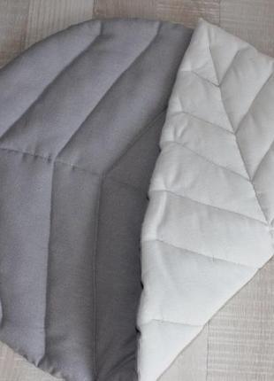 Стильний двосторонній килим-листок 🌿
