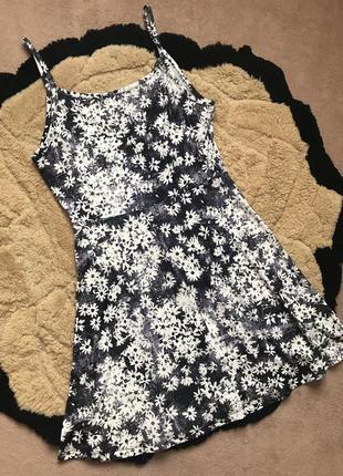 Супер плаття в квіти як нове розмір м можна л
