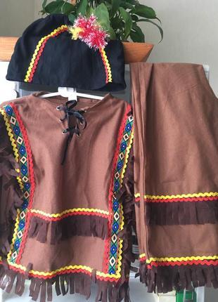 Новогодний костюм индейца