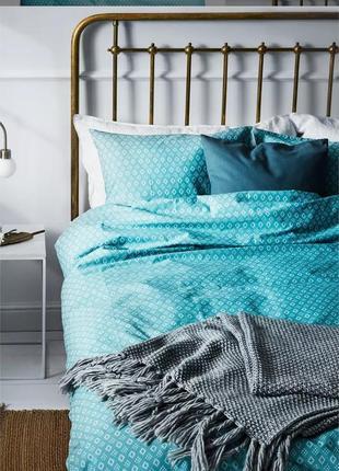 H&m home двоспальний комплект постільної білизни