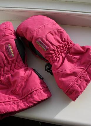 Перчатки на девочку snowlife gore-tex швейцария 8-10 лет (оригинал)