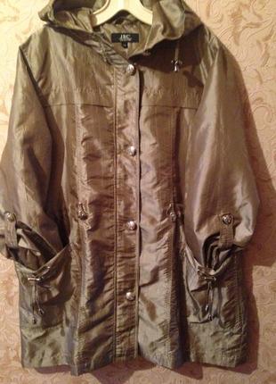 Куртка, ветровка женская большой размер