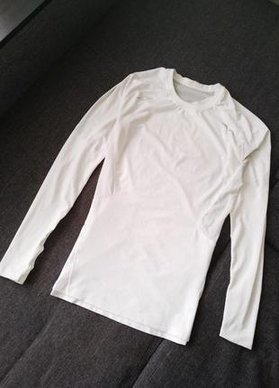 Компрессионная футболка с длинным рукавом, рашгард adidas