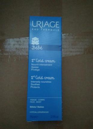 Защитный крем от холода для детей и младенцев uriage cold cream ultra-nourishing